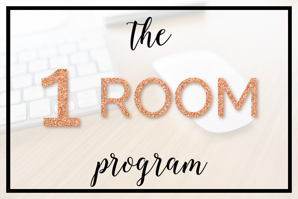One Room Program from the Organised Chaos online shop. Organised Chaos is Ireland's #1 organisation expert providing professional Home and Office organising and decluttering services in Dublin, Ireland, and Virtual Organising services worldwide!