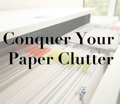 conquer_your_paper_clutter_online_course_by Organised Chaos, Ireland's #1 organisation expert providing professional Home and Office organising and decluttering services in Dublin, Ireland and Virtual Organising services worldwide