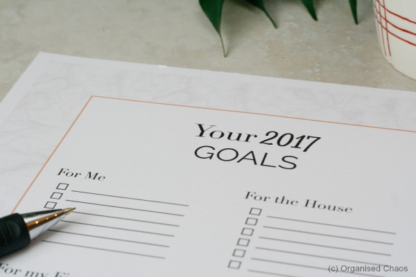 goals_checklist_fora_new_year-by Organised Chaos, Ireland's #1 organisation expert providing professional Home and Office organising and decluttering services in Dublin, Ireland and Virtual Organising services worldwide