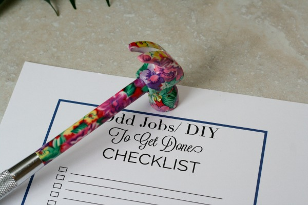 Odd_jobs_around_home_checklist-by Organised Chaos, Ireland's #1 organisation expert providing professional Home and Office organising and decluttering services in Dublin, Ireland and Virtual Organising services worldwide