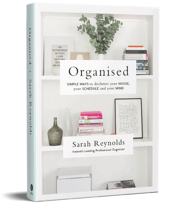Organised is a book written by Sarah Reynold, Ireland's best professional organiser. Serving customers in Dublin, Europe and internationally with expert home decluttering and corporate services for offices and companies.