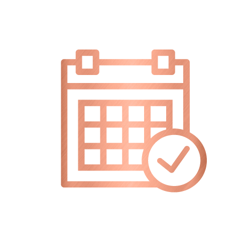 Calendar icon for annual office clearout and corporate services by Sarah Reynolds of Organised Chaos, Ireland's best professional organiser. Serving customers in Dublin, Europe and internationally with expert home decluttering and corporate services for offices and companies.