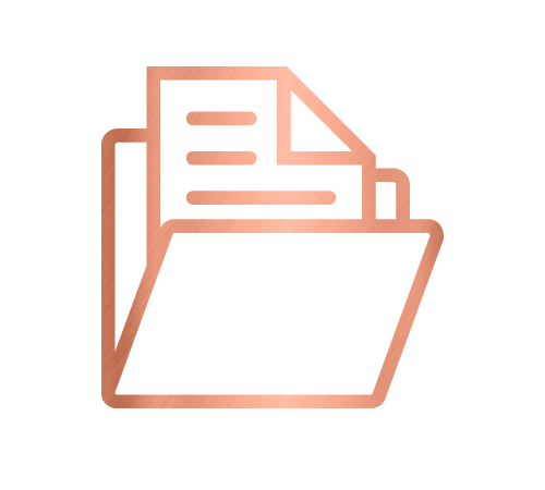 File icon for paper management and corporate services by Sarah Reynolds of Organised Chaos, Ireland's best professional organiser. Serving customers in Dublin, Europe and internationally with expert home decluttering and corporate services for offices and companies.