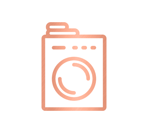 Washer icon for the laundry room and home organising service by Sarah Reynolds of Organised Chaos, Ireland's best professional organiser. Serving customers in Dublin, Europe and internationally with expert home decluttering and corporate services for offices and companies.