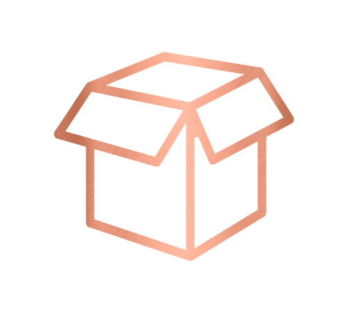 Box icon for the home organising and relocation service by Sarah Reynolds of Organised Chaos, Ireland's best professional organiser. Serving customers in Dublin, Europe and internationally with expert home decluttering and corporate services for offices and companies.